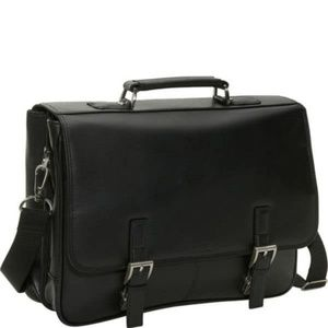 Kenneth Cole Reaction Leather Laptop Computer Bag